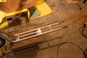 This is the current rear frame