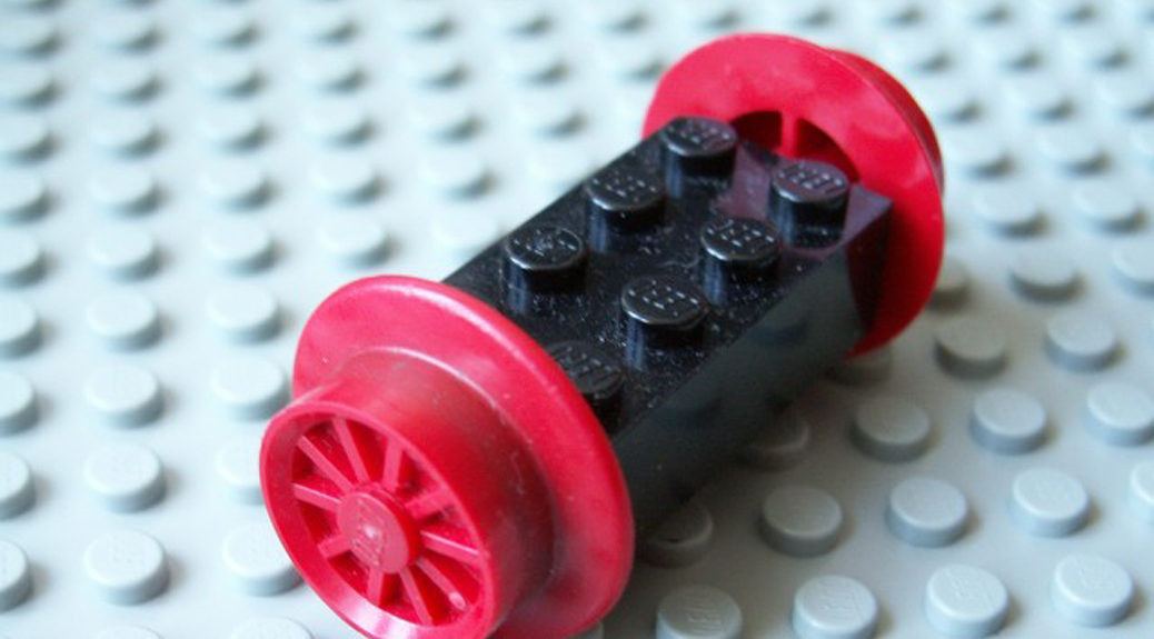 Featured LEGO train wheels